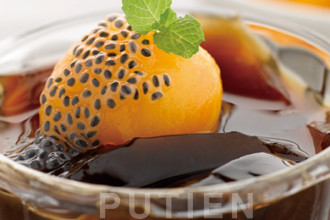 Chilled PUTIEN Loquat in Herbal Jelly