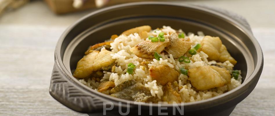 Stewed Yellow Croaker Rice
